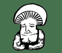 Muscle Mushroom sticker #6250901