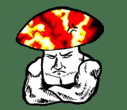 Muscle Mushroom sticker #6250903