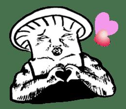 Muscle Mushroom sticker #6250913