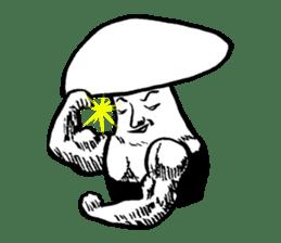 Muscle Mushroom sticker #6250916
