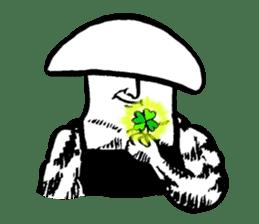 Muscle Mushroom sticker #6250918