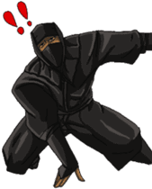 Cool ninja sticker #6256301