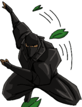 Cool ninja sticker #6256323
