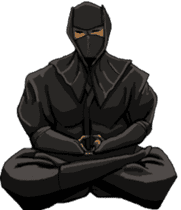 Cool ninja sticker #6256325