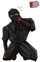 Cool ninja sticker #6256327