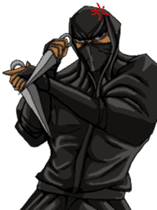 Cool ninja sticker #6256329