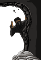 Cool ninja sticker #6256333
