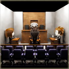 Lawyer 3D sticker