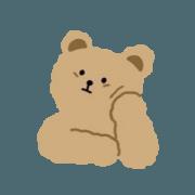 สติ๊กเกอร์ไลน์ หมีน้อยน่ารักๆ