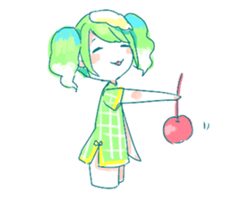 Melon cream soda - chan sticker #6269245
