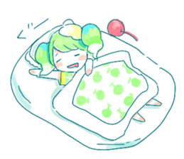 Melon cream soda - chan sticker #6269247