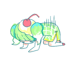 Melon cream soda - chan sticker #6269250