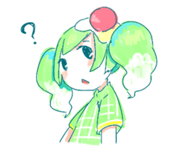 Melon cream soda - chan sticker #6269251