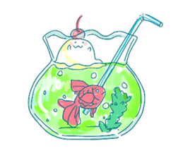 Melon cream soda - chan sticker #6269273