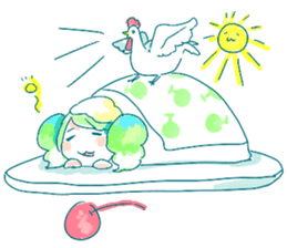 Melon cream soda - chan sticker #6269274