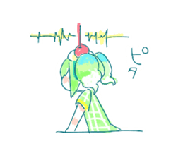Melon cream soda - chan sticker #6269275