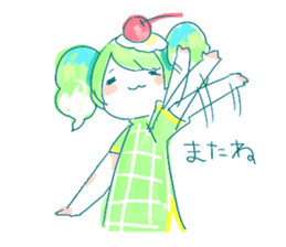 Melon cream soda - chan sticker #6269278