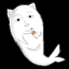 Human face cat fish