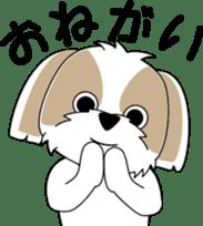 Cute Shih Tzu dog sticker #6275401