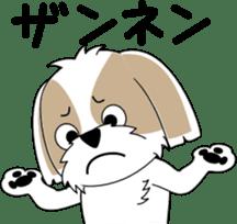 Cute Shih Tzu dog sticker #6275403