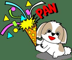Cute Shih Tzu dog sticker #6275412
