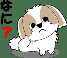 Cute Shih Tzu dog sticker #6275416