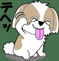 Cute Shih Tzu dog sticker #6275417