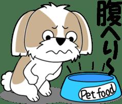Cute Shih Tzu dog sticker #6275420