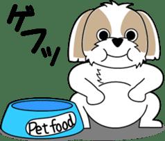 Cute Shih Tzu dog sticker #6275423