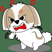 Cute Shih Tzu dog sticker #6275427
