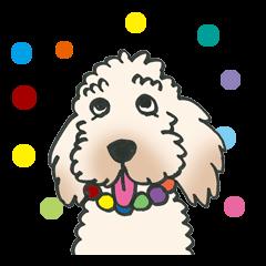 Mascot dog Jobim