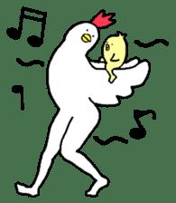 chicken's life 2 sticker #6285300