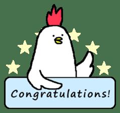 chicken's life 2 sticker #6285331