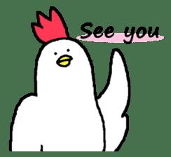 chicken's life 2 sticker #6285333