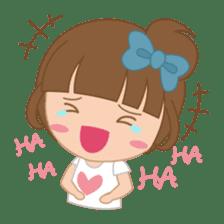 Alexa : Cute and Funny Girl sticker #6286939