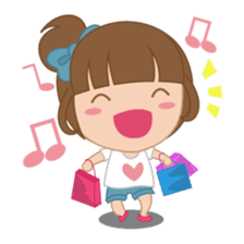 Alexa : Cute and Funny Girl sticker #6286940