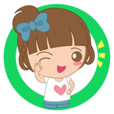 Alexa : Cute and Funny Girl sticker #6286947
