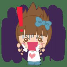 Alexa : Cute and Funny Girl sticker #6286959
