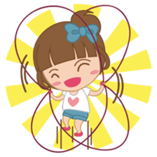 Alexa : Cute and Funny Girl sticker #6286964