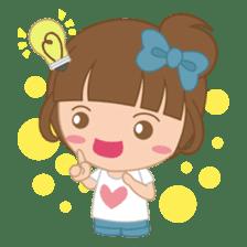 Alexa : Cute and Funny Girl sticker #6286970