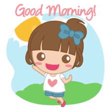 Alexa : Cute and Funny Girl sticker #6286973