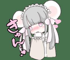 animal maidcafe sticker #6287226