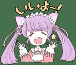 animal maidcafe sticker #6287241