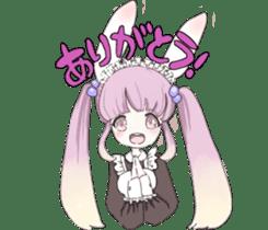 animal maidcafe sticker #6287242