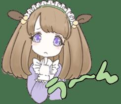 animal maidcafe sticker #6287245