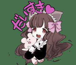 animal maidcafe sticker #6287248