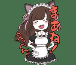 animal maidcafe sticker #6287249