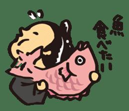 Japanese boy. His name is Shigeru sticker #6293344
