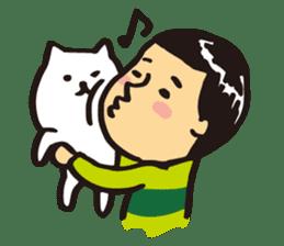 Japanese boy. His name is Shigeru sticker #6293357