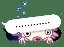 UPAZO the axlotol - mild life sticker #6293370